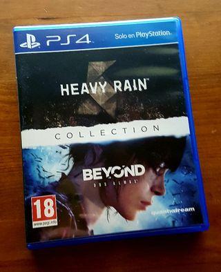 HEAVY RAIN - BEYOND TWO SOUL - PLAYSTATION 4