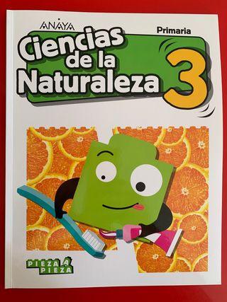 Ciencias de la naturaleza 3. Anaya