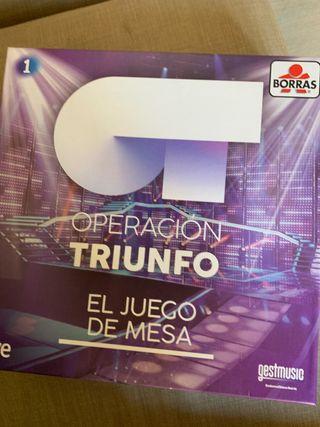 Juego de Mesa Operación Triunfo