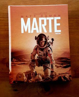 MARTE EDICIÓN COLECCIONISTA CON LIBRO BLURAY