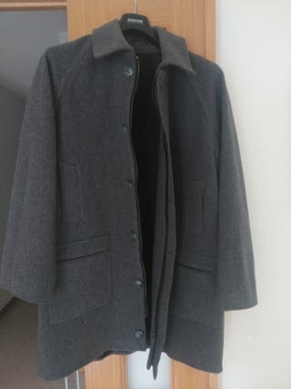 Abrigo caballero cachemira & lana