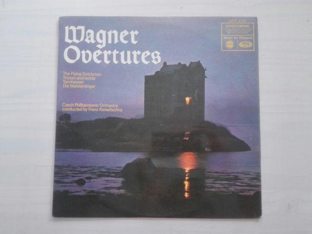 Wagner Obertures vinilo