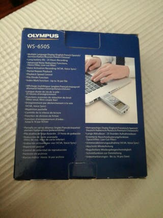 grabadora olympus WS65OS