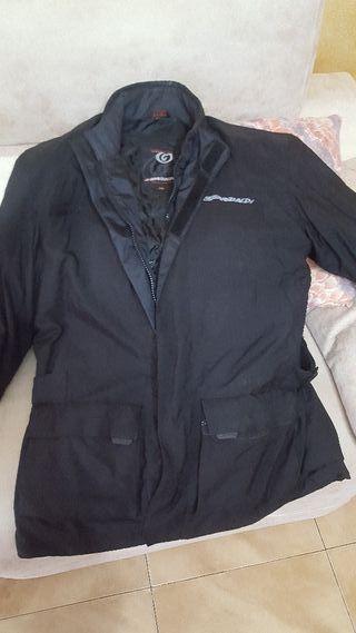 chaqueta de motorista marca garibaldi
