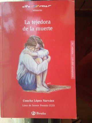 la tejedora de la muerte de Concha López Narváez