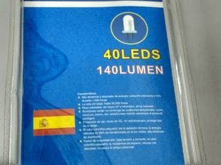 fluorescente de 40 LED para encimera de cocina