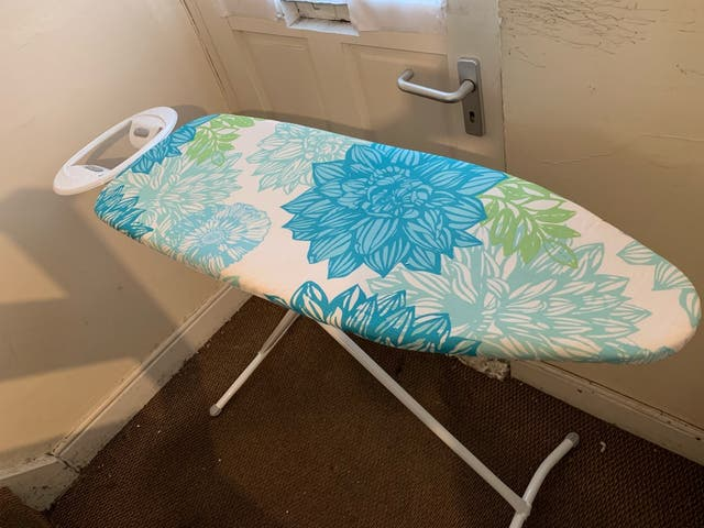 Almost new ironing board