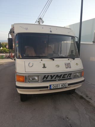 Autocaravana Hymer.