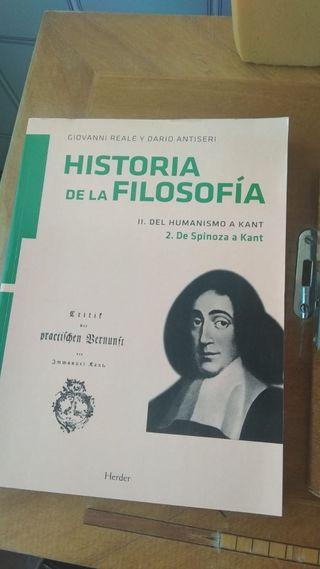 libro historia filosofía moderna