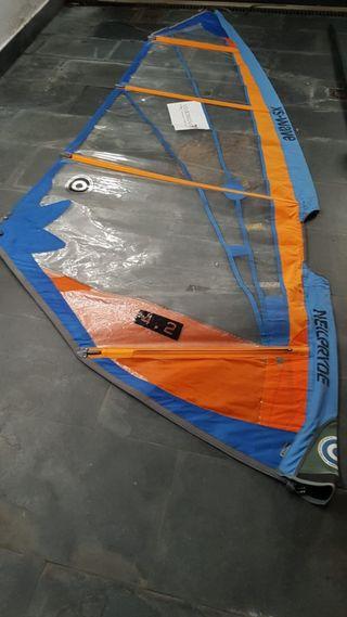 Equipo completo de windsurf para iniciación