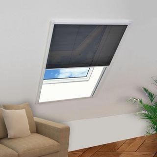 vidaXL Mosquitera plisada para ventana 141130