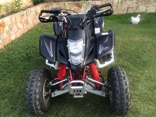 Quad suzuki ltz 400 black edition 2007 vendo/cambi