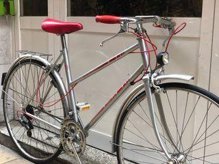 Bicicleta clásica paseo urbana