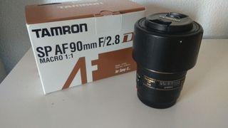 Objetivo Tamron 90mm Macro - Sony