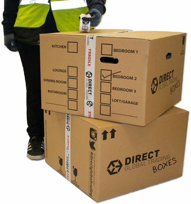 6 large cardboard