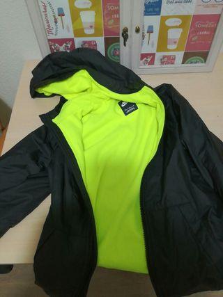 chaqueta impermeable con forro polar Nike