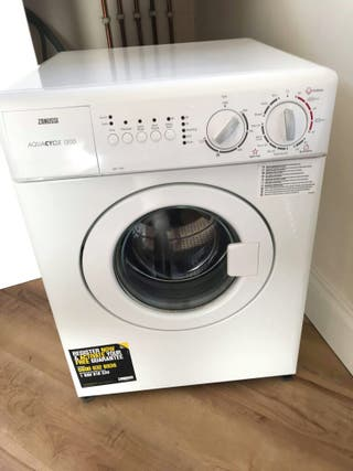 3KG WASHING MACHINE & FRIDGE FOR SALE