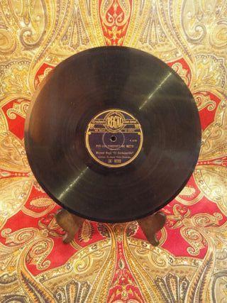 Disco de pizarra gramófono EL CARBONERILLO