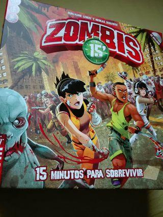 zombies 15 juego de mesa