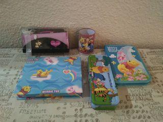 Lote escritorio Winnie Pooh + regalo