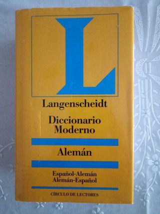 Diccionario alemán español