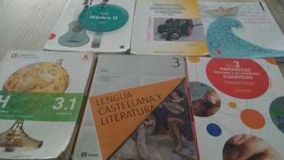 libros de texto 3° eso