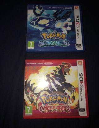Nintendo 3DS XL With Pokémon Games