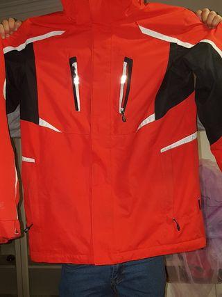 chaqueta impermeable moto nieve