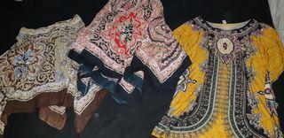 2 faldas + vestido talla única