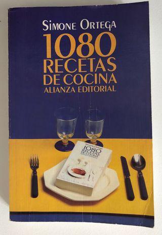 1080 recetas de cocinas. Simone Ortega