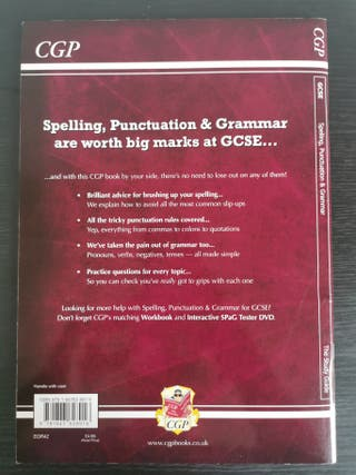 Spelling, Punctuation and Grammar GCSE