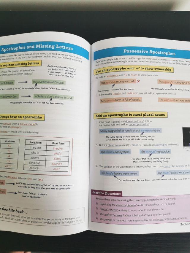 Spelling, Punctuation and Grammar GCSE