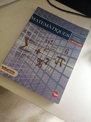 Libro matemáticas 1o bach
