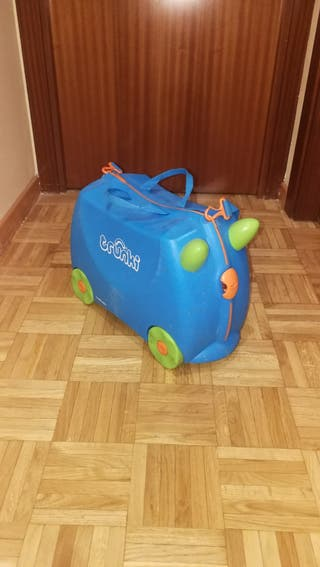 Maleta niños Trunki correpasillos y equipaje de ma