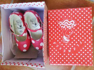 zapatos nuevos flamenca