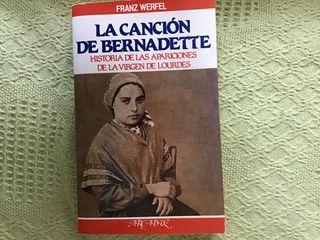 """Libro """"La canción de Bernadette"""""""