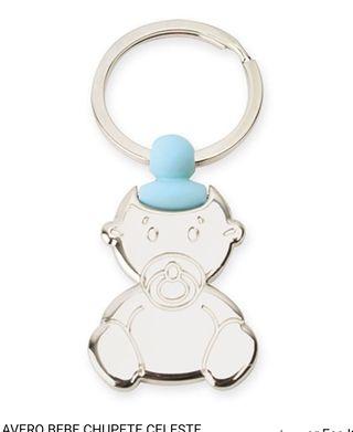 Llavero bebé azul