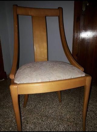 6 sillas de comedor
