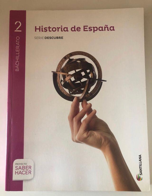 Libro Historia de España SANTILLANA