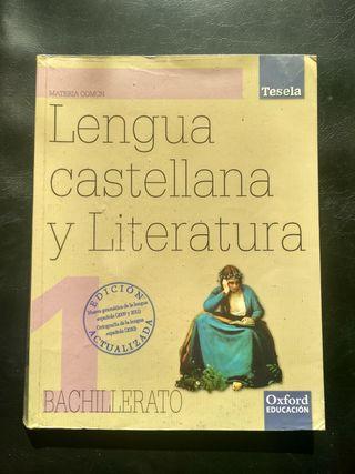 Libro de texto Lengua 1° Bachillerato
