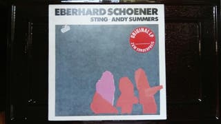 Vinilo Eberhard Schoener con Sting y Andy Summers