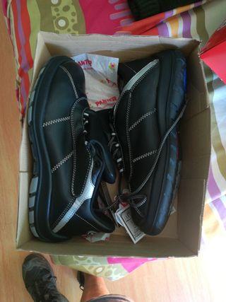 zapato bota seguridad Panter