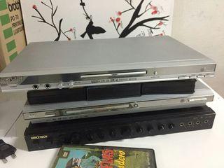 Tv pequeña,karaoke, Cd y receptor digital satèlite