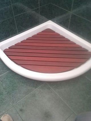 plato de ducha de gres de exposición