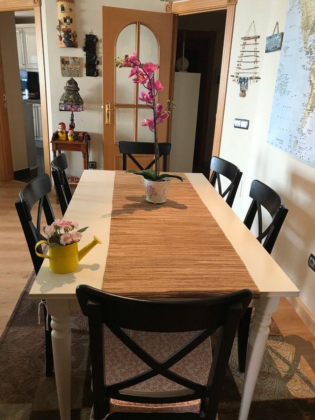 Venta conjunto mesa y sillas comedor de segunda mano por 150 ...