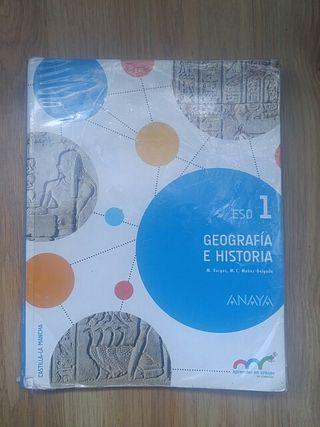 Libro de geografía e historia 1°eso (la herrera)