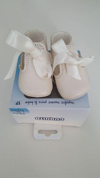 Zapato bebé ceremonia