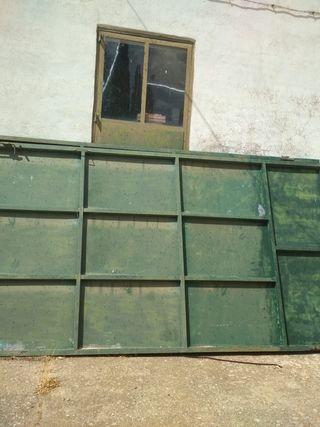 Portadas de hierro de chapa galvanizada