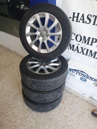 llantas Audi 16 pulgadas con neumáticos