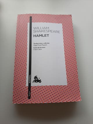 "Libro ""Hamlet"" William Shakespeare"